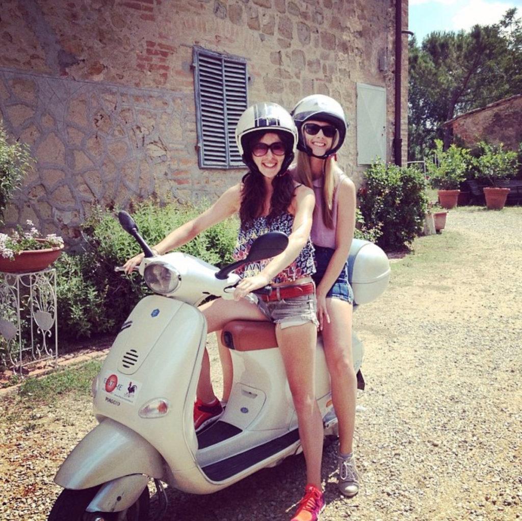 vespa tour San Gimignano